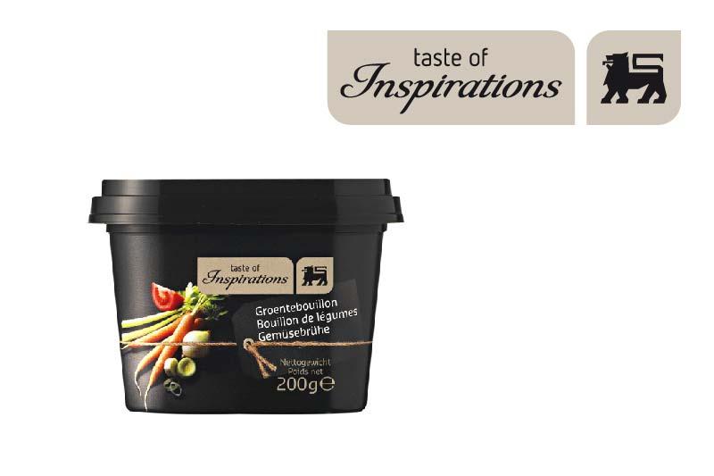 La marque Delhaize Taste of inspirations
