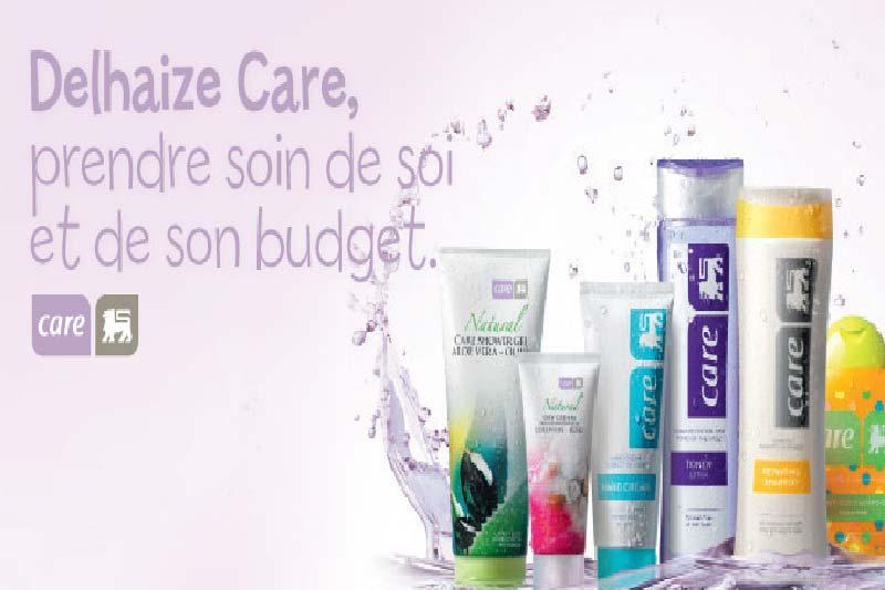 La marque Delhaize Care